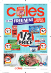 Coles Catalogue – July 31 to August 06, 2019