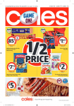 Coles Catalogue – June 05 to 11, 2019
