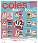 Coles Health & Beauty Catalogue – June 19 to 25, 2019