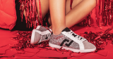 Win 1 of 10 pairs from rollie's Sparkly exclusive sneaker collection