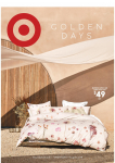 Target Catalogue – Golden Days – July 25 to August 7, 2019