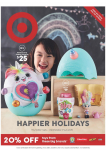 Target Catalogue – Happier Holidays – July 11 to 17, 2019