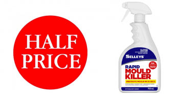 Selleys Bathroom Cleaner Rapid Mould Killer Trigger 500ml $3 (Was $6) @ Woolworths