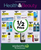 Woolworths Health & Beauty Catalogue – July 10 to 16, 2019