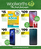 Woolworths Telco Catalogue – July 03 to 09, 2019