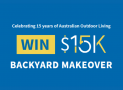Wina a $15K Backyard Makeover