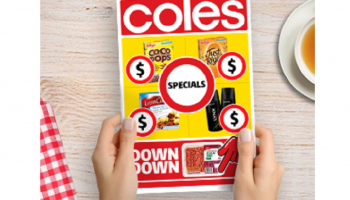 Coles -:1/2 Price Food & Grocery Specials