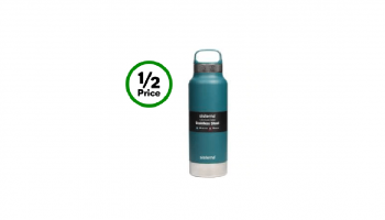 ½ Price Sistema Stainless Steel Dual Wall Bottle $15 @ Woolworths