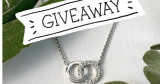 To WIN: A wonderful 9-carat white gold and diamond necklet, worth $1000