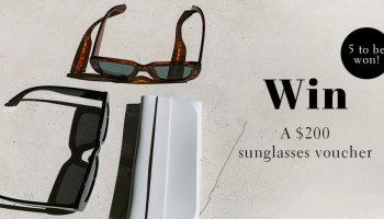 Win 1 of 5 x $200 Floucia (Sunglasses) Vouchers