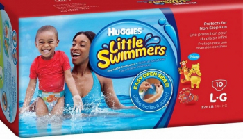FREE Huggies Little Swimmers sample pack