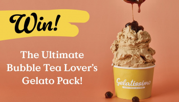 Win the ultimate Bubble Tea Lover's Gelato Pack