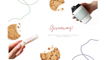 Win a Clemence Organics, Vegan Cookie, and Made by Fressko Prize pack