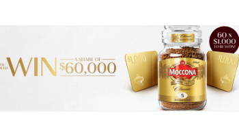 Win 1 of 60 $1,000 Visa Gift Cards
