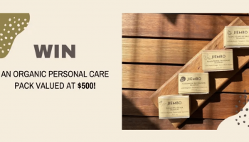 Win a $500 Organic Hair & Skincare Pack