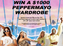Win a $1000 wardrobe from Peppermayo