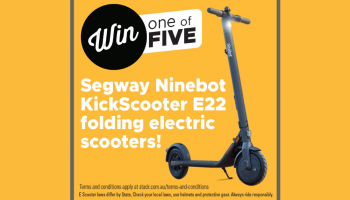 Win 1 of 5 Segway Electric Scooters