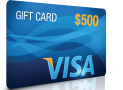 WIN a $500 Visa Gift Card PLUS a set of sizzling HQ Thriller Reads