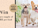 Win a Year of FREE Pet Food