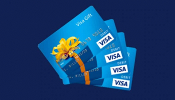 Win 1 of 5 x $100 VISA Gift Cards