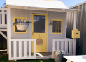 Win a Club Shack Cubby Houses combined with a Fort/Slide Attachment