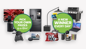 WIN $8000 worth of prizes from Woolworths